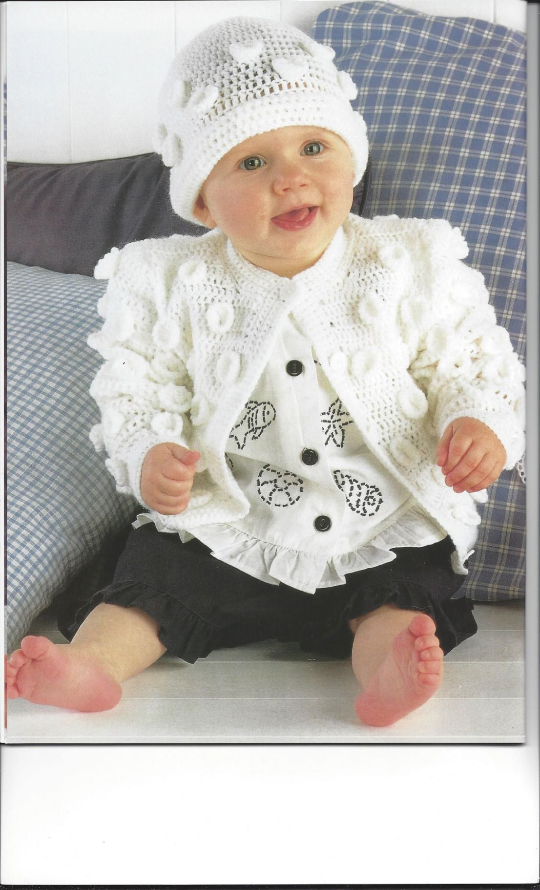 Sirdar Book 269 - Babies in Crochet - Sirdar Snuggly Double Knit & 4-ply